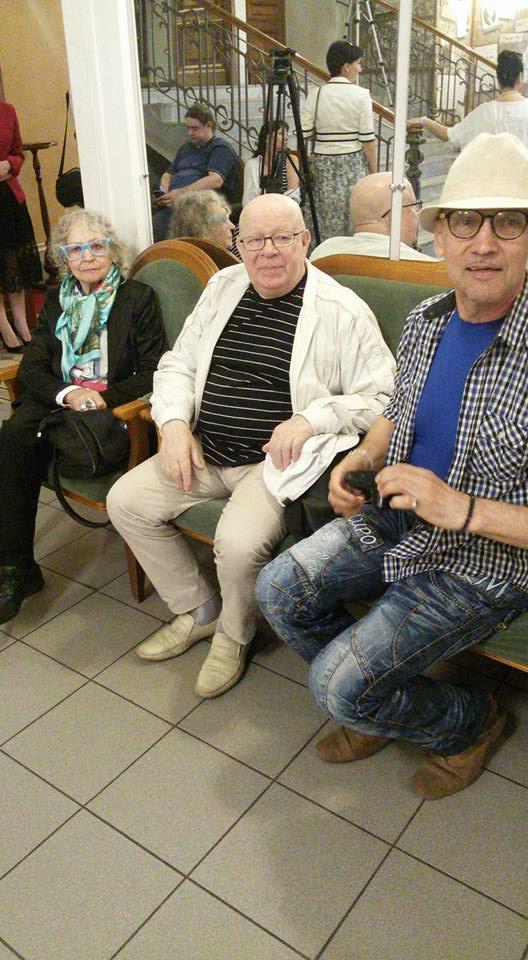 Народные артисты РФ-Вера Карпова и Вадим Лобанов